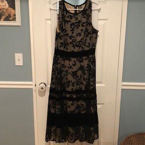 Flocked dress